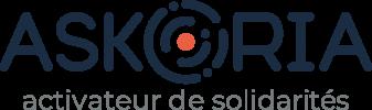 Logo Askoria ardoise baseline
