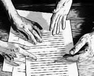 ecriture a 4 mains